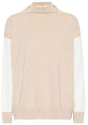 Agnona Two-tone cashmere sweater