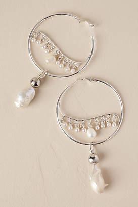 Anthropologie Ziva Hoop Earrings