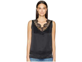 Escada Sport Nanty Lace Inset Sleeveless Top