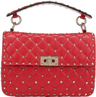 Valentino Garavani Rockstud Single Top Handle Shoulder Bag