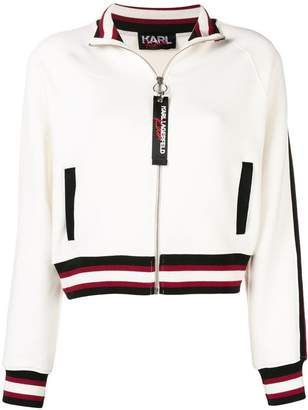 Karl Lagerfeld X Kaia Zip-Up Sweatshirt