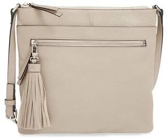 Halogen Tasseled Leather Crossbody Bag