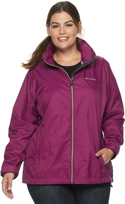 Columbia Plus Size Switchback III Hooded Packable Jacket