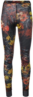Jean Paul Gaultier Pre-Owned floral print leggings