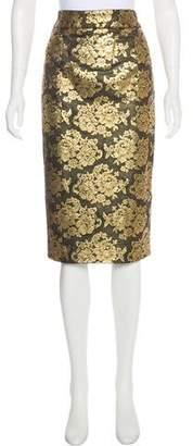 Mathieu Mirano Metallic Lace Skirt w/ Tags