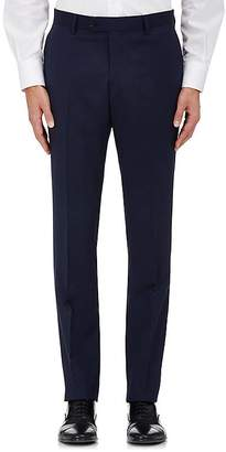 Barneys New York Men's Herringbone Wool Classic Trousers