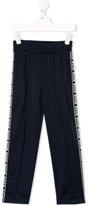 MSGM Kids elasticated waist track pants