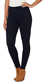 As Is Spanx Red Hot Label Denim Leggings $24 thestylecure.com