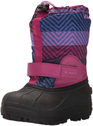 Columbia Girls' Childrens Powderbug Forty Print Snow Boot