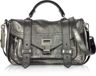 Proenza Schouler Ps1+ Metallic Leather Tiny Zip Satchel Bag
