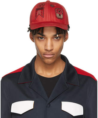 Valentino Red Garavani Embroidered Cap
