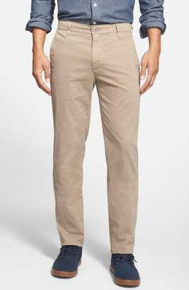 AG Jeans 'The Lux' Tailored Straight Leg Chinos