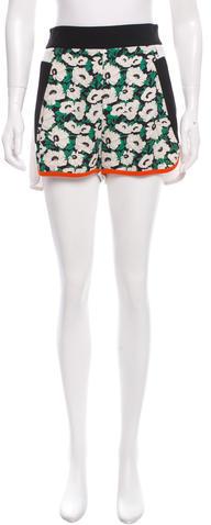 Stella McCartneyStella McCartney Floral Print Mini Shorts