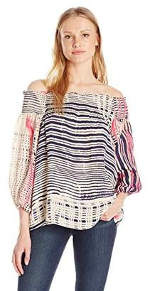 Plenty by Tracy Reese Women's Off The Shoulder Blouse