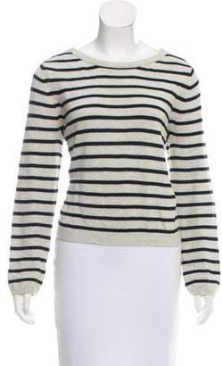 Theory Strip Knit Sweater