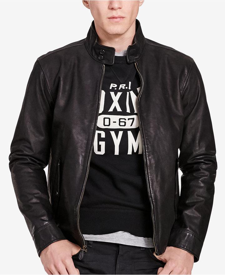 Polo Ralph LaurenPolo Ralph Lauren Leather Barracuda Jacket