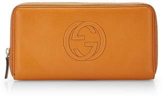 Gucci Tan Leather Soho Wallet