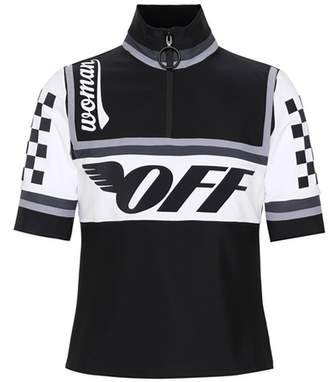 Off-White Cycling stretch T-shirt