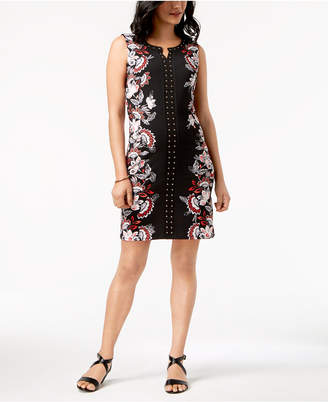 JM Collection Studded Sheath Dress, Created for Macy's