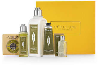 L'Occitane Five-Piece Refreshing Verbena Treasures Gift Set