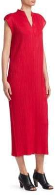 Pleats Please Issey Miyake Monthly Colors July Midi Dress