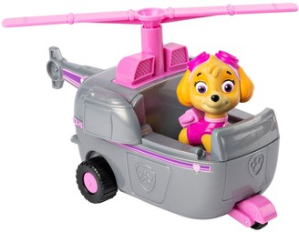 Baby Essentials Paw Patrol VEHICLE WITH PUP - Skye