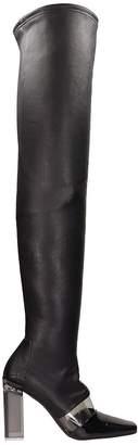 Arcosanti Patent Leather High Boots