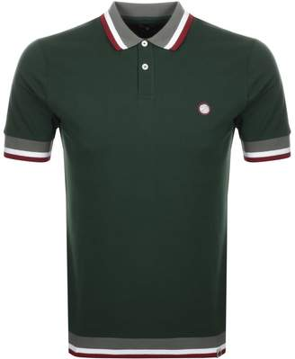 Pretty Green Fairbrook Polo T Shirt Green