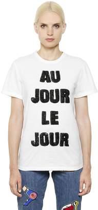 Au Jour Le Jour Embellished T-Shirt