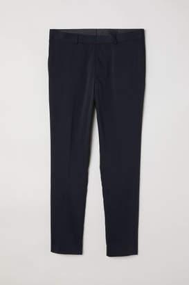 H&M Super Skinny Fit Suit Pants - Blue