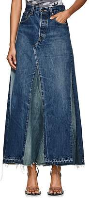 Needles Women's Denim Maxi Skirt