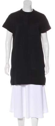 Proenza Schouler Mock-Neck Mini Dress
