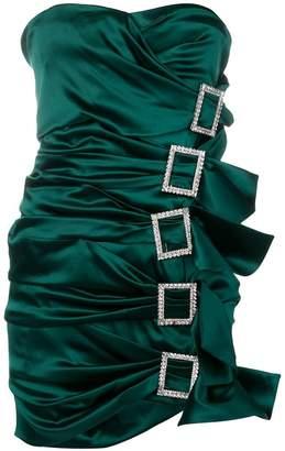 Alexandre Vauthier multiple buckled dress