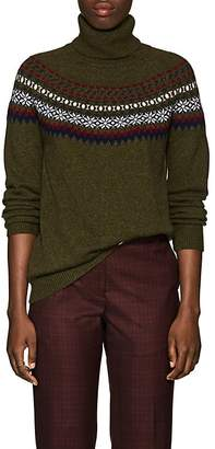 Barneys New York Women's Fair Isle Cashmere Sweater