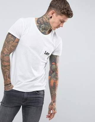 Lee Logo Pocket T-Shirt