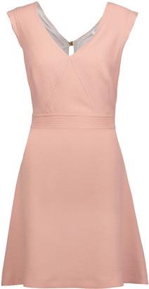 Sandro Rozo cutout crepe mini dress $295 thestylecure.com