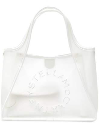 Stella McCartney (ステラ マッカートニー) - Stella McCartney ステラ ロゴ クリア トートバッグ