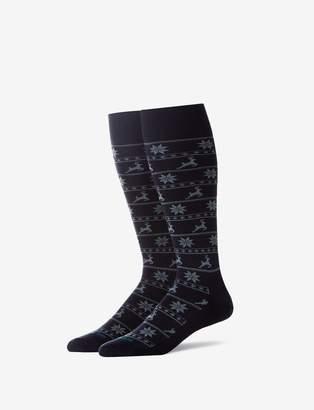 Tommy John Tommyjohn Reindeer Stay Up Dress Sock