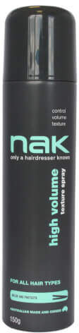 Nak High Volume Texture Spray 150g