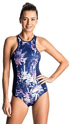 Roxy Women's Keep Fashion One Piece Swimsuit $66.01 thestylecure.com