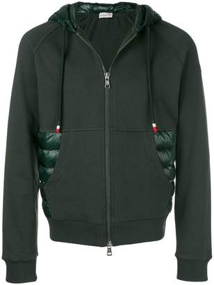 Moncler quilted insert hoodie
