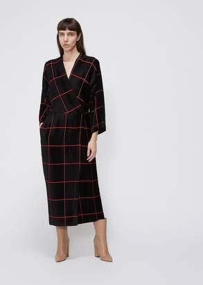 Zero Maria Cornejo Wrap Oki Dress