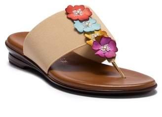 Italian Shoemakers Genieve Floral Embellished Sandal