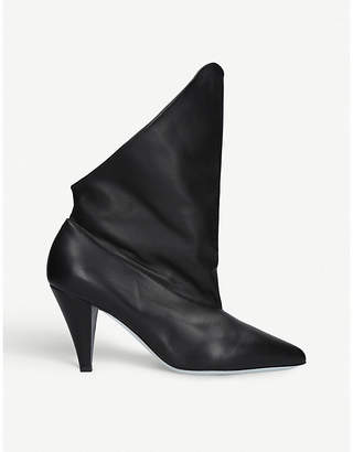 Givenchy Show leather ankle boots