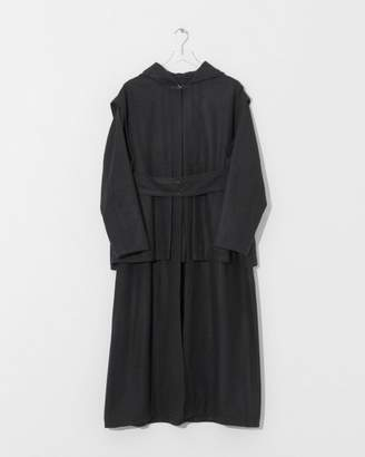 Nehera Black Wool Cabiny Coat