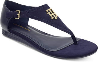 Tommy Hilfiger Women's Harber Thong Flat Sandals Women's Shoes