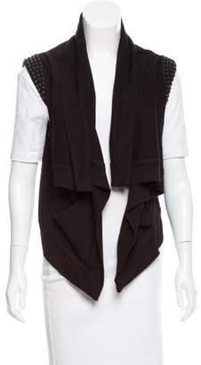 Aiko Studded Open Front Vest