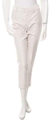 Tia Cibani Polka Dot Cropped Trousers w/ Tags