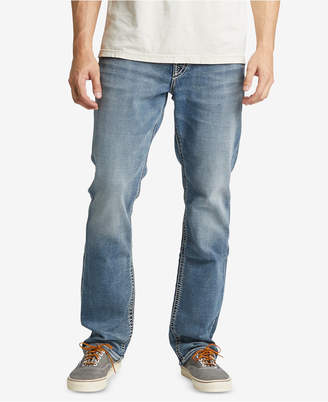 Silver Jeans Co. Men Grayson Easy-Fit Straight Jeans