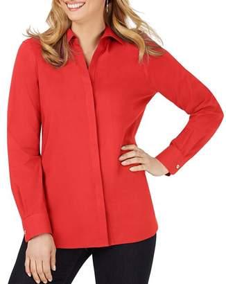 Foxcroft Kylie Cotton Stretch Non-Iron Shirt